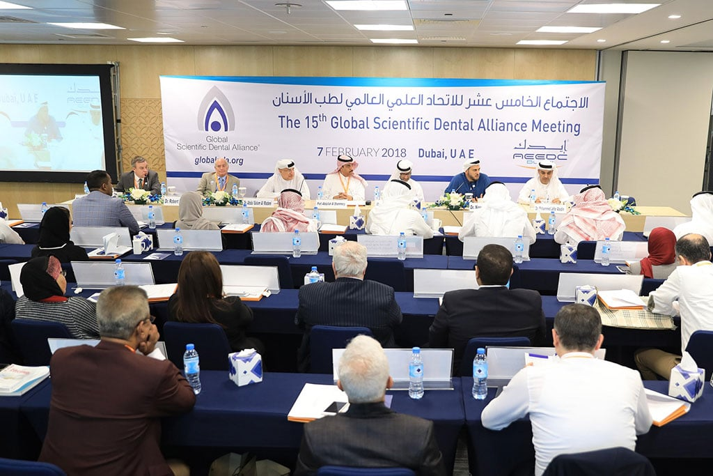 AEEDC Dubai hosts 15th Global Scientific Dental Alliance Meeting